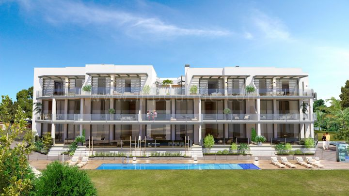 Estepona, Residencial Costa Marinsa, Costalita, Nouvelle construction Appartements contemporains
