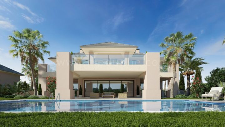 Benahavis, Los Flamingos, Brand New Contemporary Luxury Villas for sale