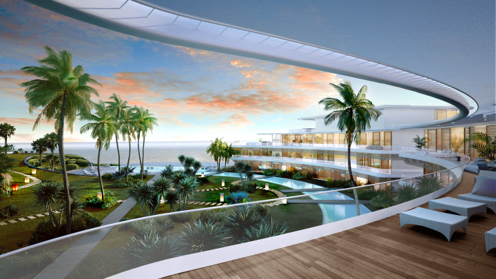 Estepona, The Edge, Estepona, Luxury Apartments for sale Beachfront