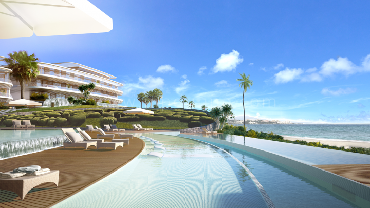Estepona, The Edge, Estepona, Contemporary Off Plan Apartments for sale Beachfront