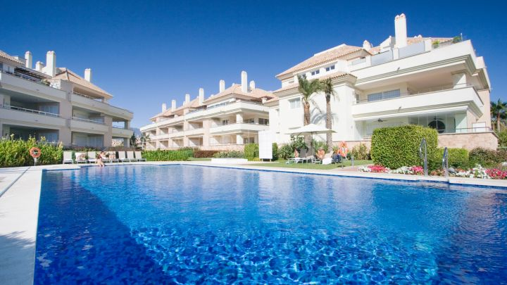 Estepona, Front Line Beach appartement sur le New Golden Mile