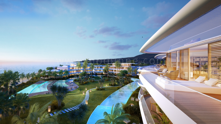 Estepona, The Edge, Estepona, Luxury Off Plan contemporary apartments for sale Beachfront