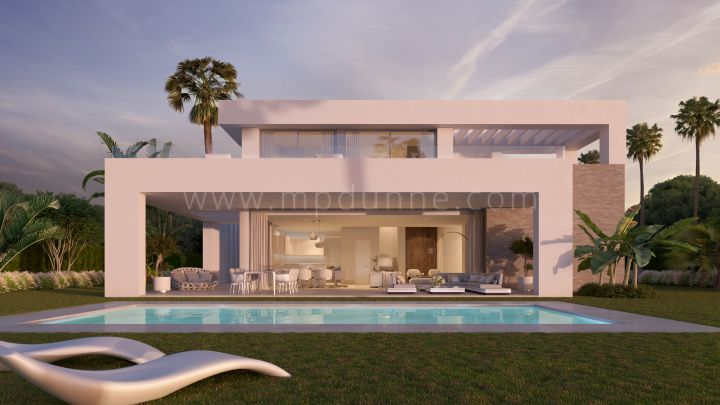 Mijas Costa, La Finca de la Cala, Off Plan contemporary luxury villas for sale