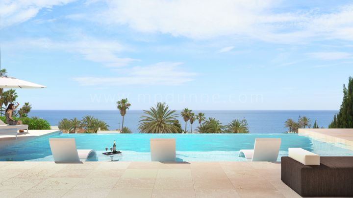 Estepona, Brand new villa with sea views in Estepona
