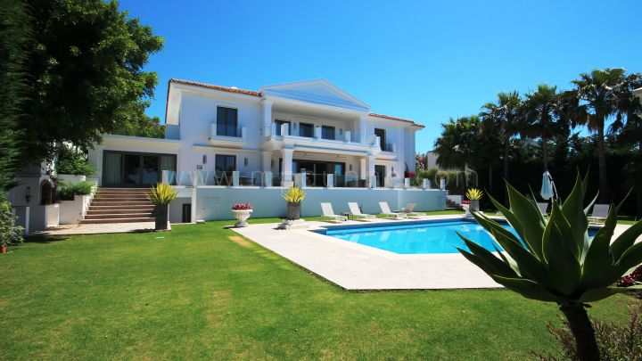 Marbella Golden Mile, Stunning 7 bedroom family home for Rent in Sierra Blanca, Marbella Golden Mile