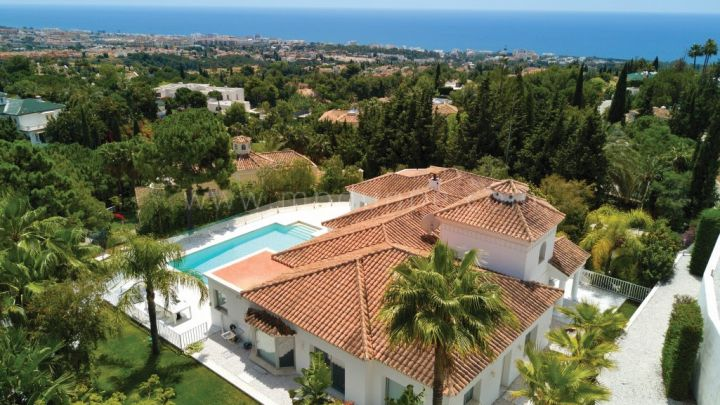 Marbella Golden Mile, Breathtaking villa in Cascada de Camojan, Marbella Golden Mile