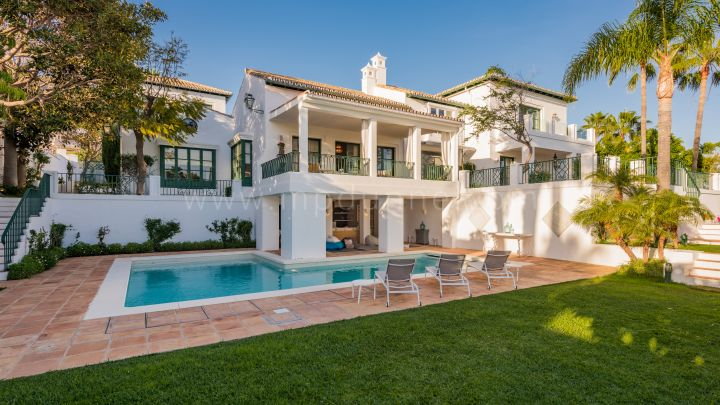 Marbella Golden Mile, Amazing villa for sale in Sierra Blanca, Marbella