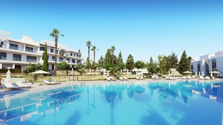 Estepona, Le Mirage, New Golden Mile, Brand new contemporary townhouses