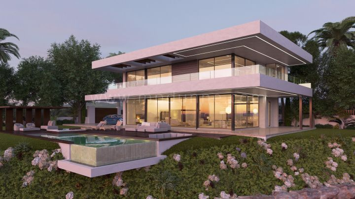 Benahavis, Building modern villa in Los Flamingos, Benahavis