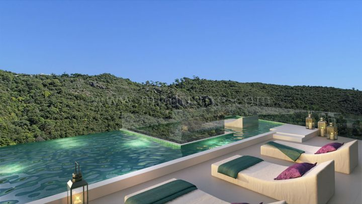 Benahavis, New off plan development of townhouses in the center of Benahavis