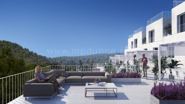 Benahavis, New development of townhouses in the center of Benahavis