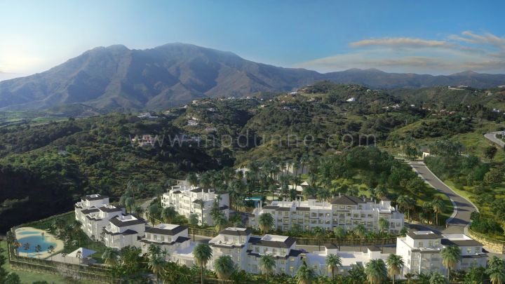 "Estepona, Ground floor apartment in new luxury residential complex ""Mirador de Estepona"""