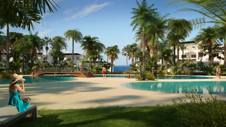 "Estepona, Beautiful appartment in new luxury residential complex ""Mirador de Estepona"""