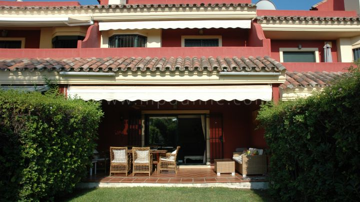 Marbella Golden Mile, Large Town House in gated community on the Golden MIle