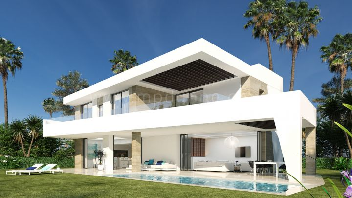 Estepona, Stunning new modern villa in La Resina Golf Club