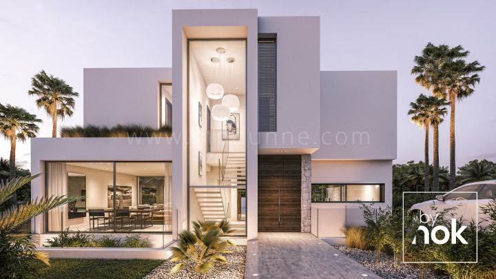 Estepona, Unique modern villa in Estepona