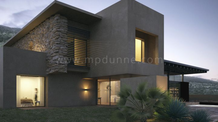 Marbella Golden Mile, New Contemporary Villa under construction in Camojan Marbella Golden Mile