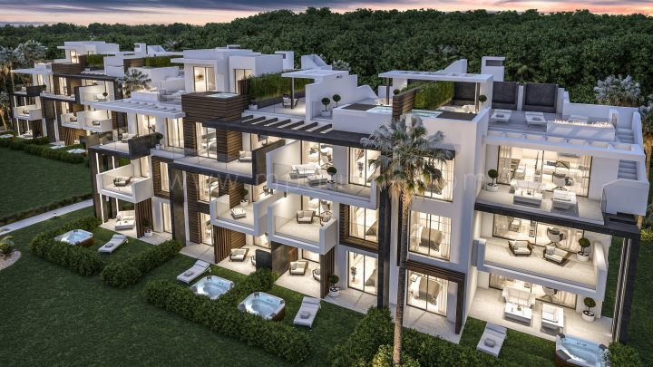 Estepona, Luxury apartments for sale in La Boladilla, Estepona