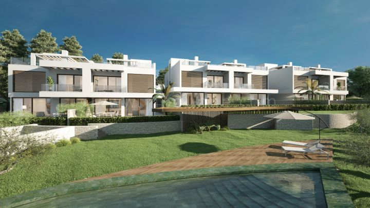 Marbella East, 6 semi detached luxury 4 bedroom villas in Artola, Cabopino