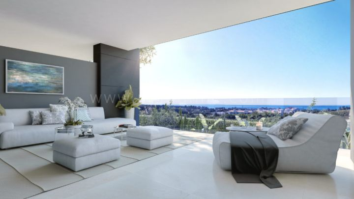 Estepona, Superb appartement moderne à New Golden Mile, Estepona