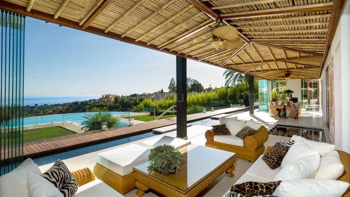 Marbella Golden Mile, Modern Asian Style Contemporary Villa in Marbella