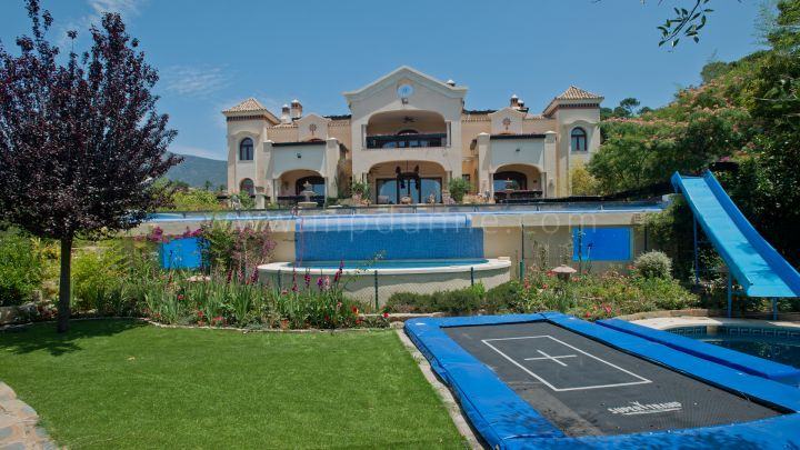 Benahavis, Classical Style Mansion in La Zagaleta Golf and Country and Country Club