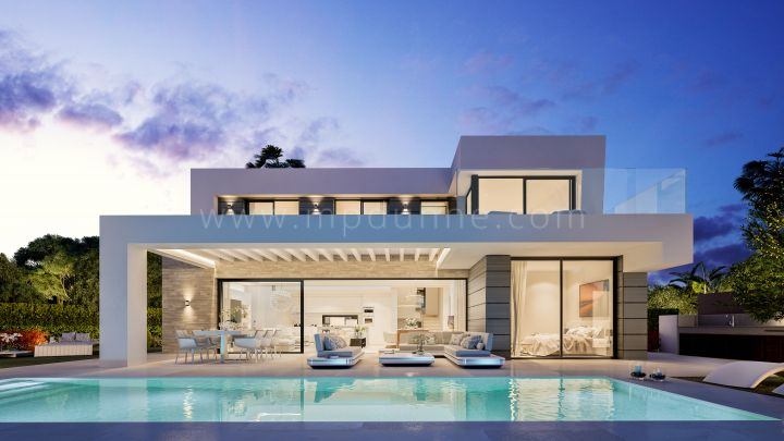 Mijas, Stunning Brand New 3 Bedroom Villa in Mijas