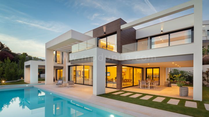 Nueva Andalucia, New Built Contemporary Villa in Nueva Andalucia Marbella