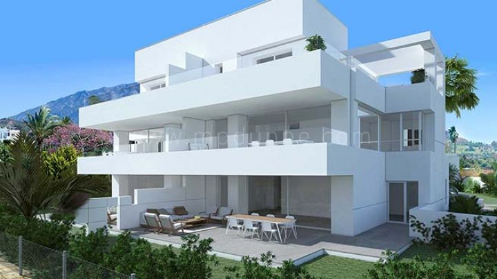 Benahavis, New modern apartment for sale in La Quinta Golf, Benahavis