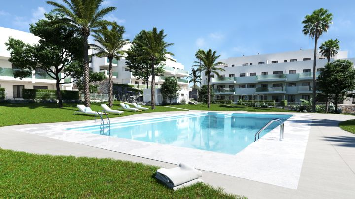 Mijas Costa, Modern ground floor apartment in Martel, La Cala de Mijas