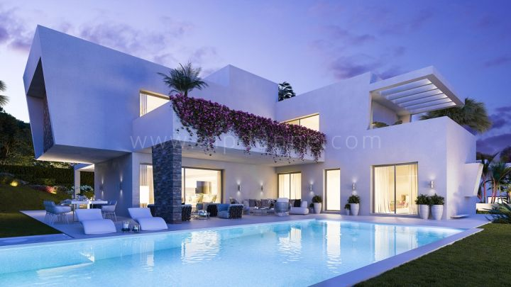 Estepona, Off plan contemporary style villa in Atalaya, Estepona