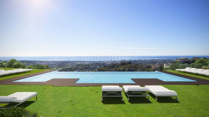 Benahavis, Modern penthouse with breathtaking views in Benahavis.