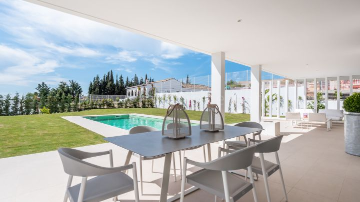 Estepona, Moderne Familia Villen in New Golden Mile, Estepona
