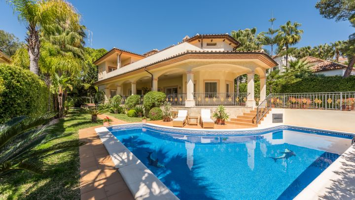 Mille d'Or à Marbella, Belle villa à Altos Reales, Marbella, Golden Mile