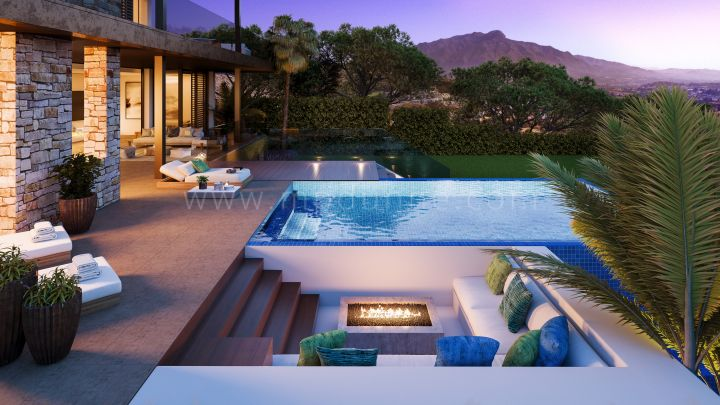 Benahavis, New off plan unique modern villa in La Quinta