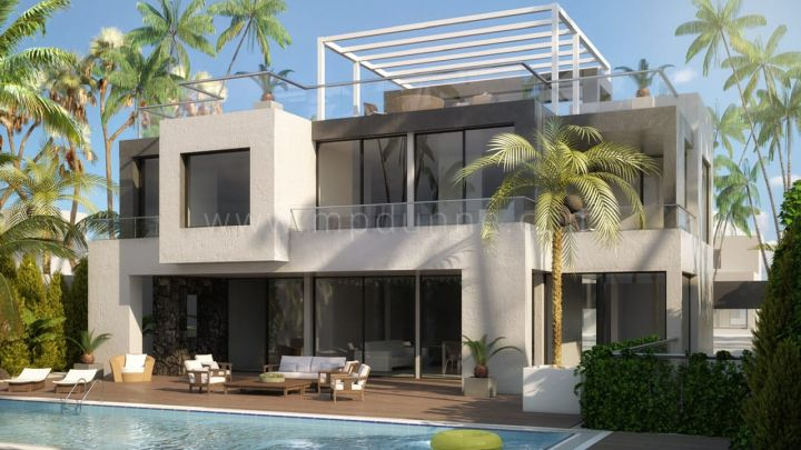 Marbella Golden Mile, Modern villa i Casablanca, Golden Mile, Marbella.