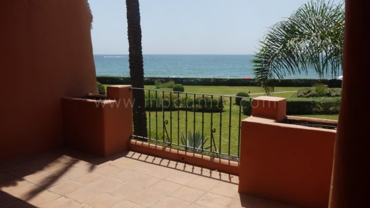 Marbella East, Bank Sale Front LIne Beach First floor Apartment Marbella