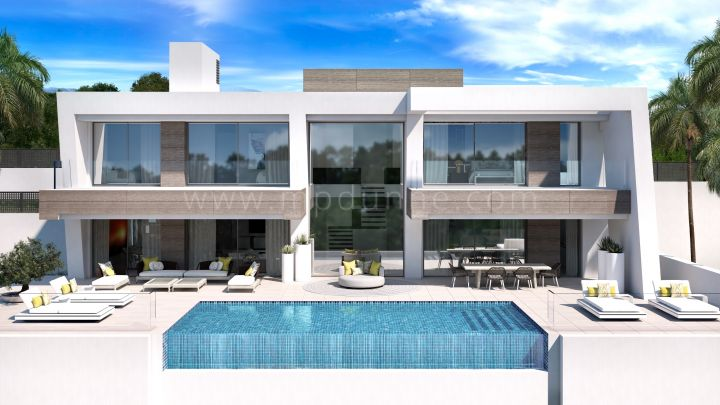 Light Blue Villas - Development in El Paraiso, Estepona
