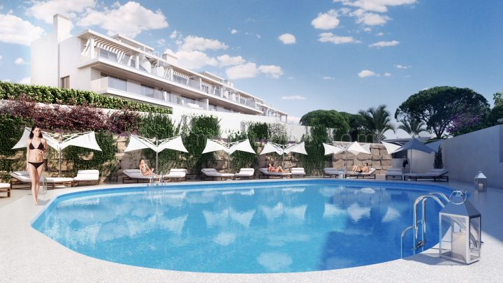 Le Mirage - Fastighetsprojekt i New Golden Mile, Estepona