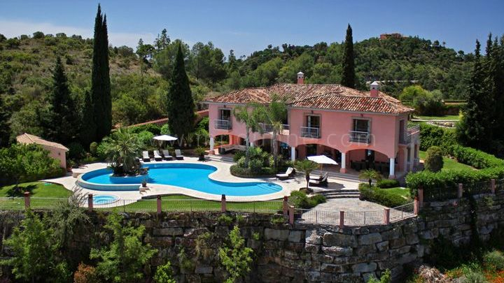 Benahavis, 6 bedroom villa for rent in El Madroñal, Benahavis