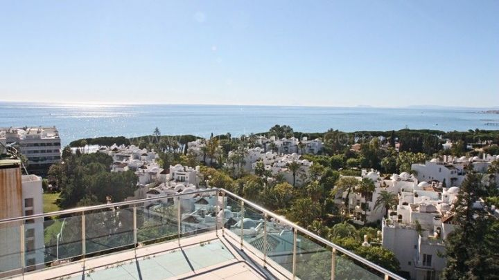 Marbella City, Unique Penthouse for sale in Marbella Centre
