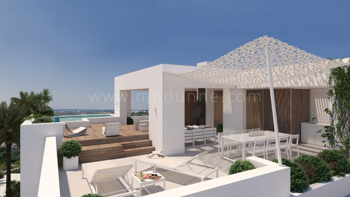 Benahavis, Modern luxury penthouse in Benahavis