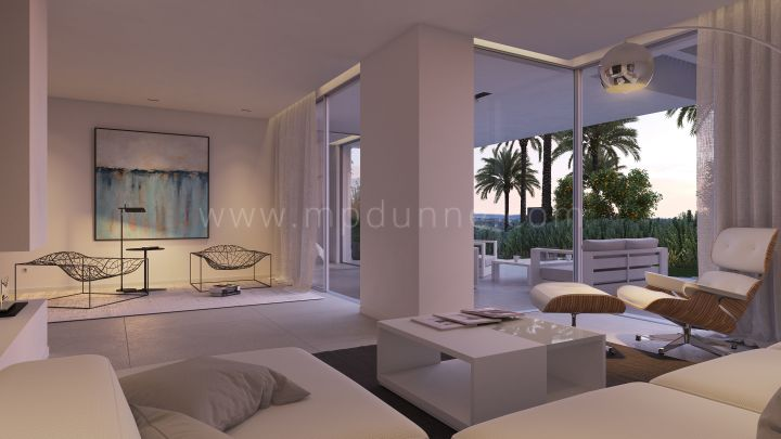 Benahavis, Modern luxury first floor apartment in Benahavis