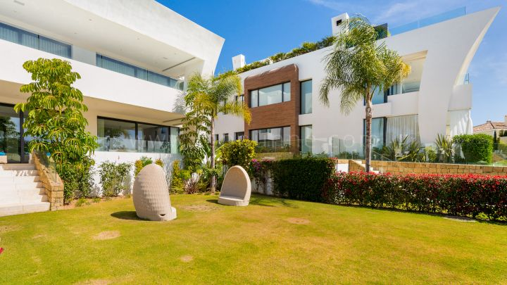 Marbella Golden Mile, Ground floor apartment in Reserva de Sierra Blanca, Marbella