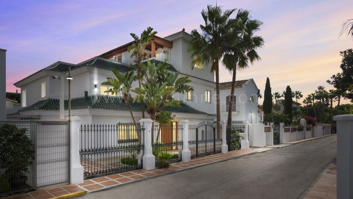 Marbella Golden Mile, Fully renovated villa in Puente Romano, Golden Mile, Marbella