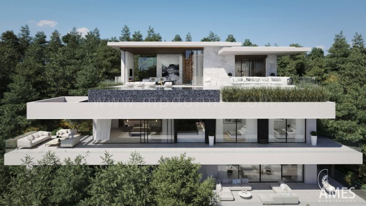 Benahavis, Five Bedrom Villa Project in El Madroñal