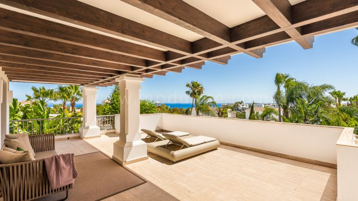 Marbella Golden Mile, Beautiful Villa in a Secure Gated Community Marbella Golden Mile