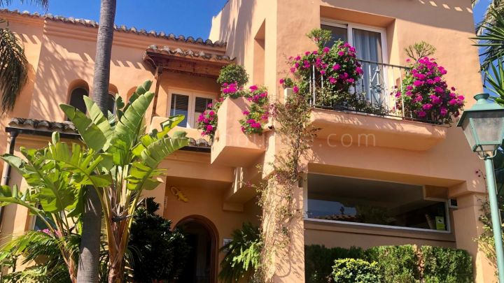 Estepona, Frontline Beach Townhouse in Alcazaba Beach Houses