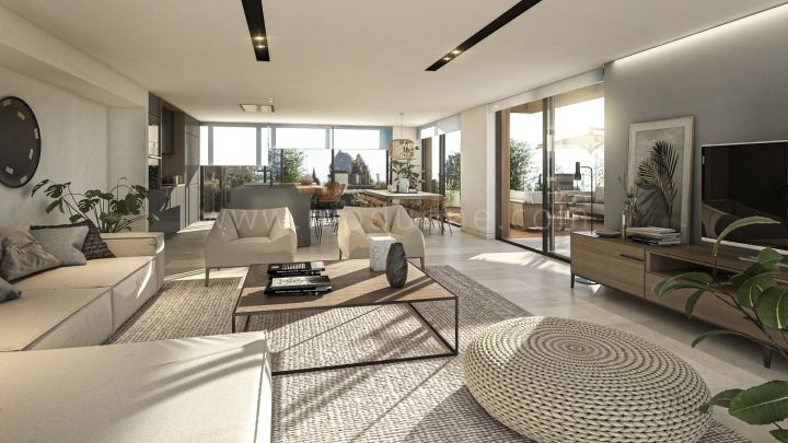 Sotogrande, New off-plan luxury penthouse in Reserva de Sotogrande