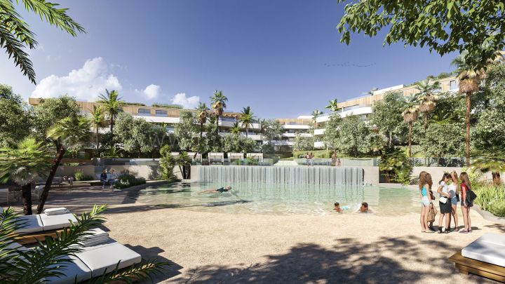 Sotogrande, New off plan luxury ground floor apartment in Reserva de Sotogrande